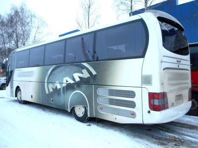 заднее стекло MAN LION`S COACH R07 (2008 г.в.)